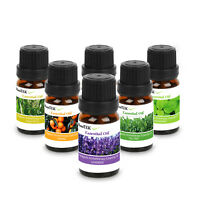6PC Essential Oil Gift Set Sampler Kit Therapeutic Grade Lot 10ML For Humidifier