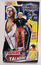 Ric Flair Autographed 2016 Wwe Tough Talkers Hall Of Fame Action Figure W/Coa
