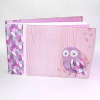 "Pepperpot Hoot Owl Design Baby Adhesive Photo Album Holds 30 6"" x 4"" Photographs"
