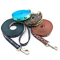 """Lunge Line 20 PATTERNS, 1"""" quality poly, can customize Halter All  Made in USA"""