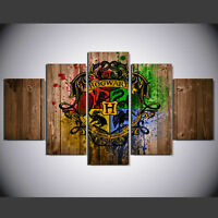 Modern Abstract Oil Painting Wall Decor Art Poster - Movie character Hogwarts 1