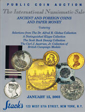 HN Stack's – ANCIENT AND FOREIGN COINS AND PAPER MONEY featuring Dr. Globu cb704