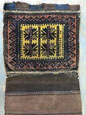 Wonderful Old Antique Handmade Baluchi Bag 3x1.6 Ft