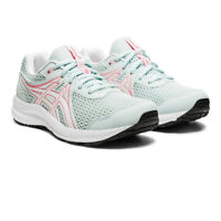 Asics Girls Gel-Contend 7 GS Boys Running Shoes Trainers Sneakers Blue Sports