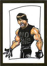 TNA AJ Styles #104 Caricature 2013 Impact Wrestling GLORY GOLD Foil SP Card DWC