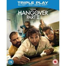 THE HANGOVER: PART 2******BLU-RAY******REGION B******NEW & SEALED