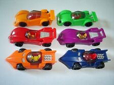 Gt Racing Model Race Cars Set 1:87 H0 - Kinder Surprise Plastic Miniatures