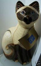"RINCONADA ""SIAMESE CAT"" LTD, EDITION LGE WILD LIFE R435 MINT IN BOX"