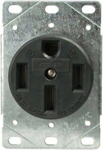 Eaton 1258 50 Amp Power Receptacle-5 pcs.