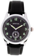 Replica WW2 German Wehrmacht Army issue service watch in nice box.  BLACK Strap.