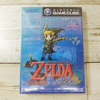 The Legend of Zelda Wind Waker Kaze no Tact gamecube GC Sealed