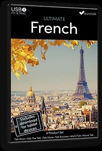 Eurotalk Ultimate French - 6 Product Set - USB & Talk Now tablet download