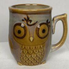 Owl Mug Gibson Home Stoneware Coffee Night Bird Mug