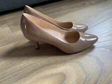 Clarks Isadora Faye Nude Dress Court Shoes Uk6.5