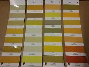 2K Epoxy Floor Paint RAL Colours  Yellows (1000's)  Select Colour  Hardener Inc.