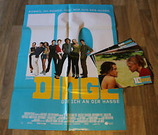 10 DINGE DIE ICH AN DIR HASSE - 9 Fotos + Org. Plakat A 1 - HEATH LEDGE 1999