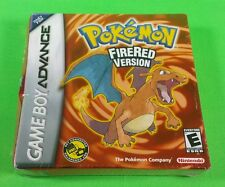 Pokemon FireRed BRAND NEW SEALED Nintendo GameBoy Advance GBA 1st Print Fire Red