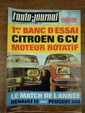 Revue Automobile L'AUTO JOURNAL Nr 494 Decembre 1969