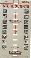 Stereocarte Bruguière n°2851 - Sanctuaire A - Lourdes (1) - 8 Vues -Stéréofilms