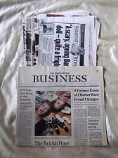 Trinny and Susannah fashion newspaper articles from England Rare