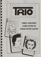 Trio Three Amazing Card Effects From Peter Duffie 1985