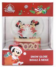 *IN HAND* Disney Parks 2020 Mickey & Minnie Mouse Disney Christmas Snow Globe