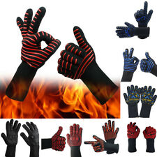 Hot BBQ Grilling Cooking Gloves Extreme Heat Resistant oven Welding Gloves UK