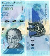 VENEZUELA Billet 10000 BOLIVARES 2016 ( 2017 )  OURS  NOUVEAU NEW UNC NEUF