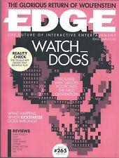 UK EDGE MAGAZINE #265 APR 2014: WATCH DOGS Dark Souls 2 YOSHI'S NEW ISLAND Thief
