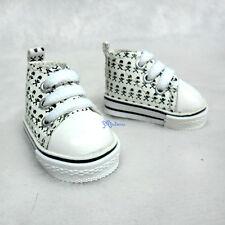 Yo-SD 1/6 bjd Neo-Go Boy Obitsu Male Taeyang Shoes Skull Head Sneaker White