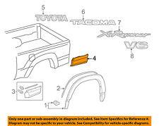TOYOTA OEM Tacoma Pick Up Box Bed-Rocker Panel Molding Trim Right 7580304902