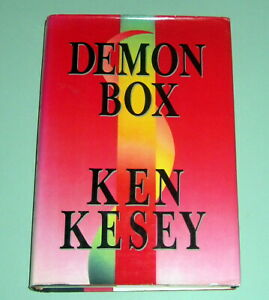 KEN KESEY DEMON BOX 1st ED PSYCHEDELIC LSD ESSAYS OREGON HIPPIE Merry Pranksters