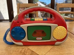 Vintage Little Tikes Tape Recorder - Cassette Player & Microphone