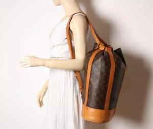 LOUIS VUITTON Randonnee GM Schultertasche Monogram Canvas Rucksack Shoulder Bag