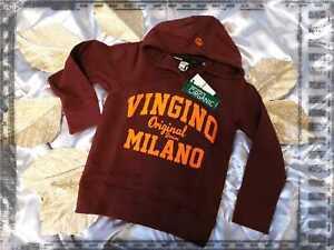 Vingino Pullover Logo Hoodie Größe 116/6 Jahre NEU 49,99 €