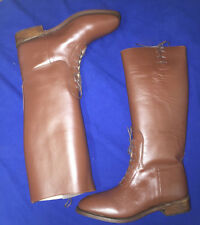 British or American Officer Semi-Dress Riding Boots Size 9 New