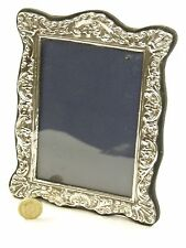 """Vintage Sterling Silver - Photo / Picture FRAME - 5 1/2"""" x 4"""" - SF113"""