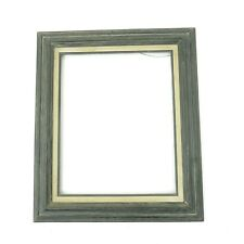 Vintage LARGE Mid-Century Modern Gray Wash Frame fits 16x20 art