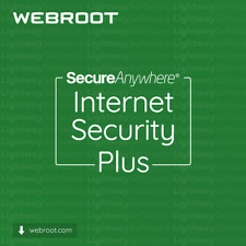 Webroot Internet Security Plus - 1 A 3 Anni Per 5 dispositivi (Chiave Licenza)