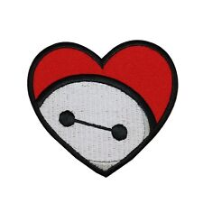Big Hero 6 Baymax Heart Iron-On Patch DIY Disney Apparel Child's Outfit Applique