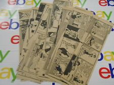 The Oregonian- March 1945- Lot Of 27 Comic Strips- Moon Mullins - Black & White