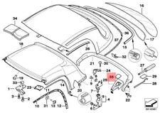Genuine BMW Z3 Roadster Left Locking Plug OEM 54218411333