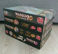 5x Wasgij 1000 Piece Jigsaw Puzzle Bundle Joblot New Used
