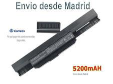 Batería para ASUS A53SJ Mod. Port. A32-K53 10,8V 6 celdas 5200mAH AKKU Battery