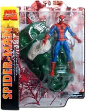 Spider-Man w/crushed green car Marvel Select 2015 Series