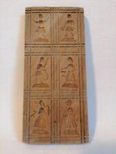 altes Springerle Holzmodel 6 verschiedene Motive geschnitzt