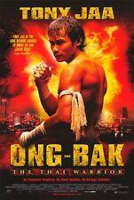 ONG-BAK Movie POSTER 27x40 Tony Jaa Petchtai Wongkamlao Pumwaree Yodkamol Suchao