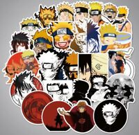 "Naruto 100 Anime Stickers Decal Lot 1-3"" Laptop Luggage Car US Seller"