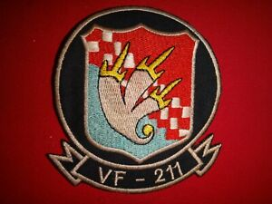 Vietnam War US Navy Fighter Squadron VF-211 CHECKMATES Patch