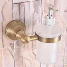 Kitchen Bathroom Accessory Antique Brass Porcelain Soap Dispenser nba169